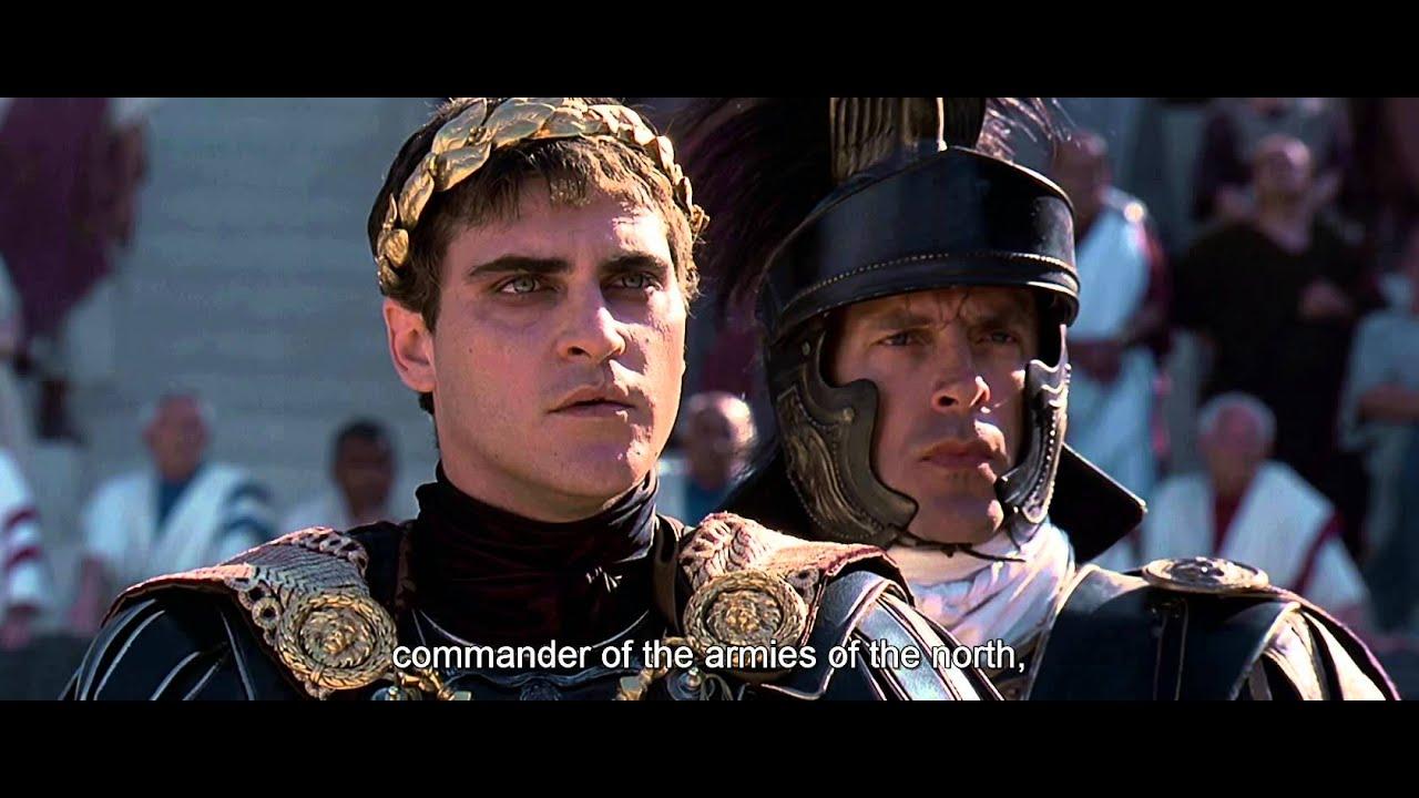 Gladiator Maximus Decimus Meridius Youtube