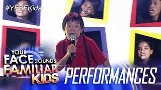 Your Face Sounds Familiar Kids: Awra Briguela As Yoyoy Villame - Butsekik