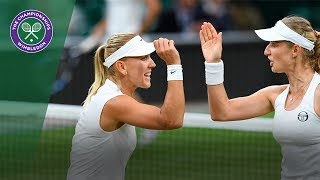 Makarova/Vesnina v Chan/Niculescu highlights - Wimbledon 2017 ladies