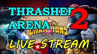 Night Thrasher Arena - Round 2 - Part 2 | Marvel Contest of Champions Live Stream