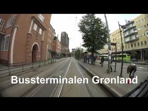 Cabview Line 19 Oslo tramway (sl79 tram) full ride.