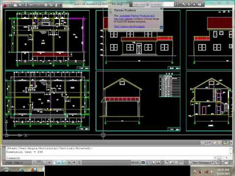 3Ds Max Tutorial | Modeling Ville in 3Ds Max and Auto Cad