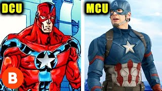 Marvel Characters DC Copied Ranked