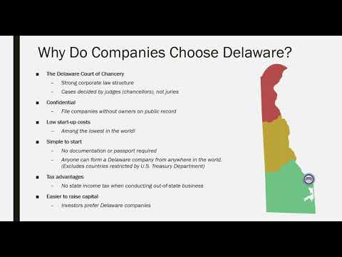 How and Why to Start a Delaware Company from Anywhere in the World