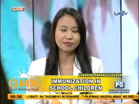 Immunization To School Children