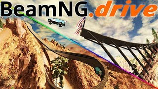 The Best Map In BeamNG.Drive? - High Speed Jumps & Crashes - Tavaci Monadnock - BeamNG Gameplay