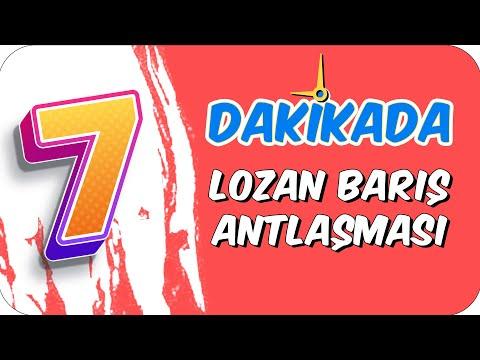 7dk'da LOZAN BARIŞ ANTLAŞMASI