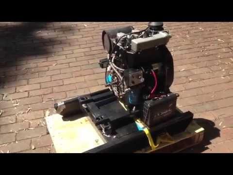 koop 22hp 2 cylinder diesel engine with base skid diesel tank best diesel engines youtube. Black Bedroom Furniture Sets. Home Design Ideas