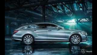 Обзор Mercedes-Benz СLS-class и CLS Shooting Brake 2014