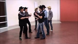 WESTERN BARN DANCE Line Dance couple - compte et danse