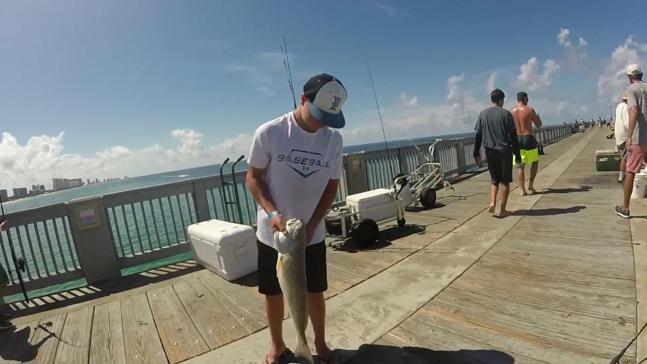 Pier Fishing Panama City Florida 2017 Hd Youtube