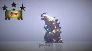 Gold Gold Godzilla (The Tomorrow Children)(Playstation 4)