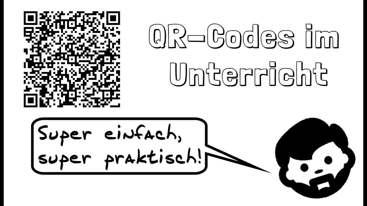 QR-Codes erstellen und in der Schule nutzen - YouTube