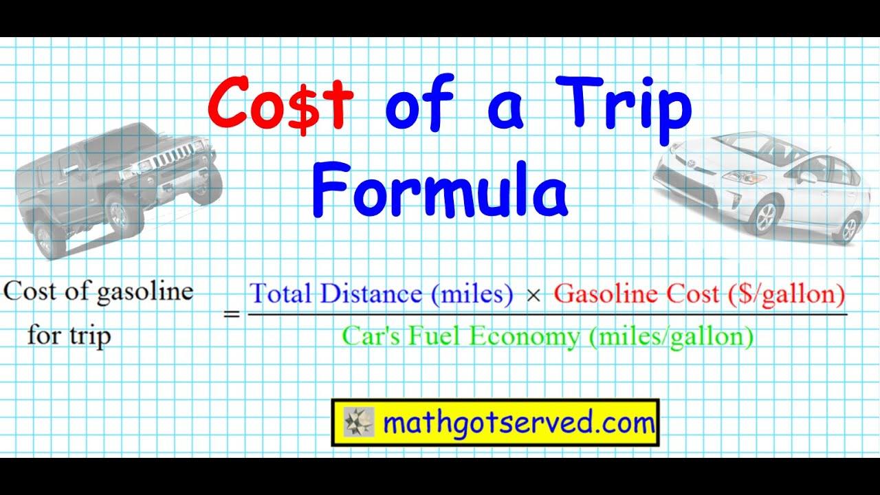 vacation cost calculator