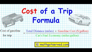 cost of a trip hummer vs prius formula calculate calculator easy proper way how to holiday vacation