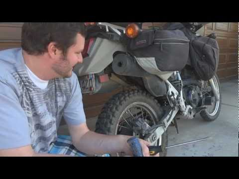 o#o How to make your stock KLR 650 exhaust sound manly for FREE (get rid of the chirp!) Thanks NT8!