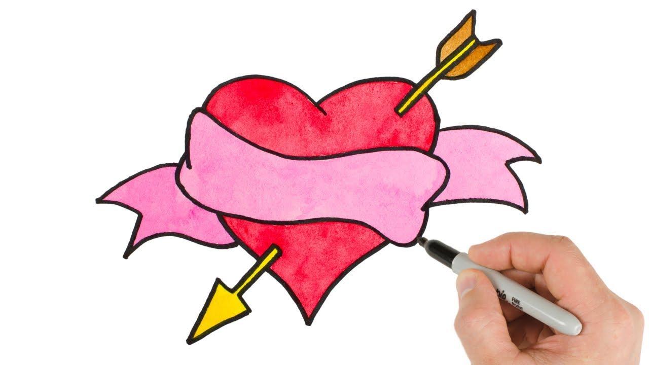 Draw It Heart Arrow