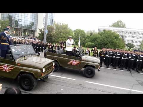 Парад Победы Город-Герой Новороссийск 9.05.2017 9 мая 2017 года полностью.