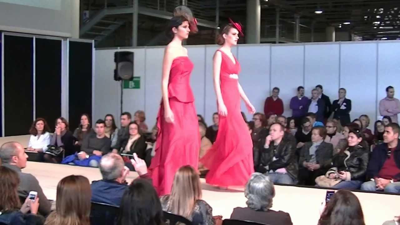 Vestido de Novia y madrinas color rojo Colección Adita Manila 2013 ...