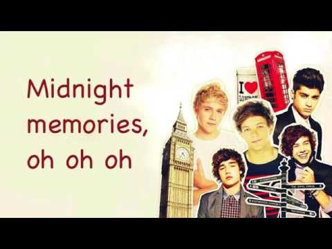 One Direction: Midnight Memories and Diana - lyrics |One Direction Song Quotes Midnight Memories