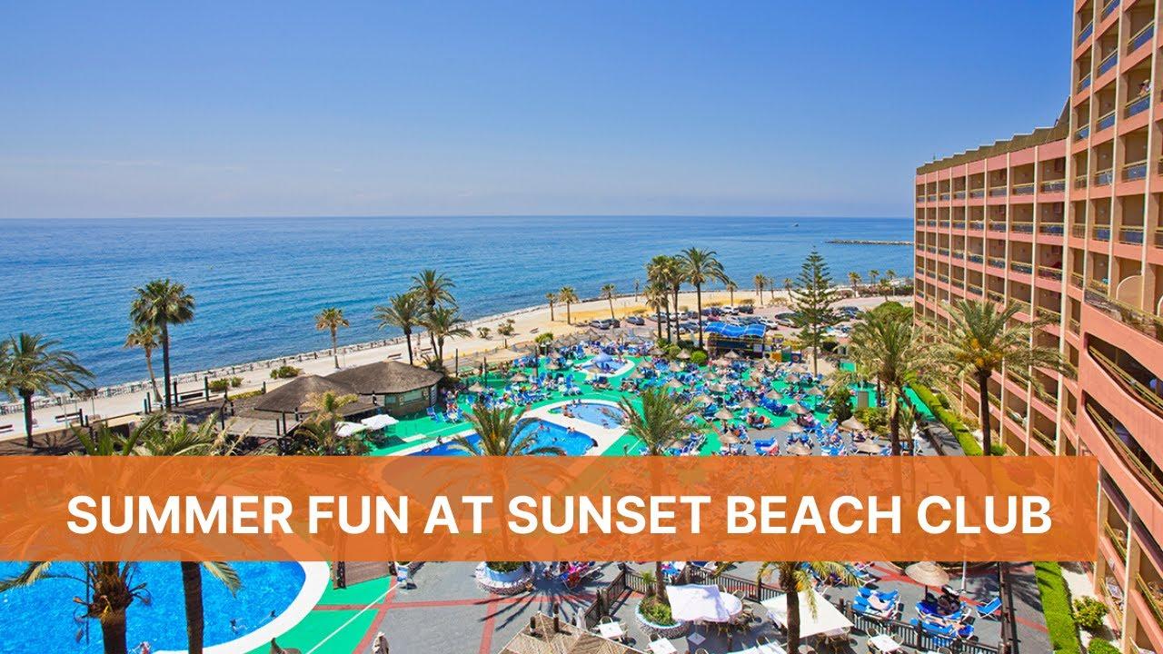 Summer Fun At Sunset Beach Club Hotel