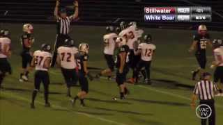 Stillwater vs White Bear Lake 10/2/15 Football Highlights