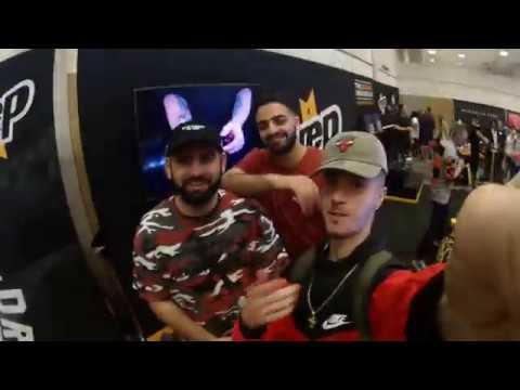 SneakerCon Toronto: 1st Vlog *MET QREWTV* 2017
