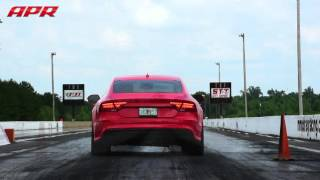 Keith Brantley's APR Tune RS7 - 10.34@135.5 with a 3,000 DA