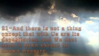 Al Hijr, [The Rocks] Chapter 15 of Holy Quran (1-50 verses)