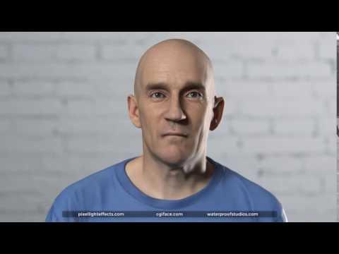 CGI Face Demo (Point Break)