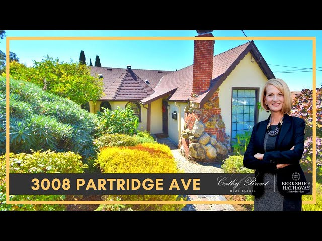 3008 Partridge Ave, Oakland, CA 94605   Cathy Brent Real Estate