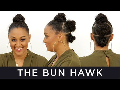 bun-hawk-for-natural-hair-|-quick-fix