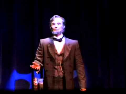 Disney's hall of presidents Abraham Lincoln speech