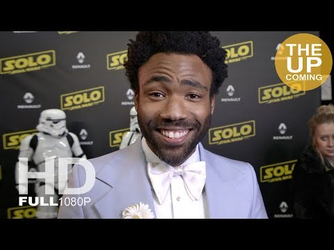 Donald Glover interview at Solo: A Star Wars Story party in Cannes
