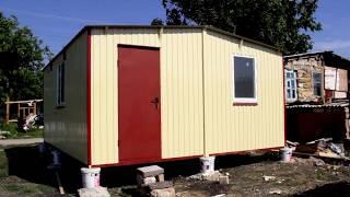 Дачный дом для проживания 6х4,8м