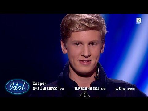 Casper imponerer stort med sin cover av Tårnet - Kristian Kristensen   Idol Norge 2018