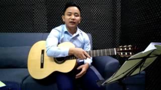 Phần 2. Đàn và hát cho khớp - Giáo trình Guitar Bolero Văn Anh