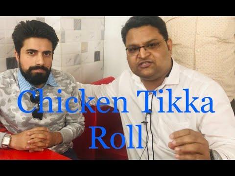 Best Chicken Tikka Roll | Khidki Village | Malviya Nagar I New Delhi