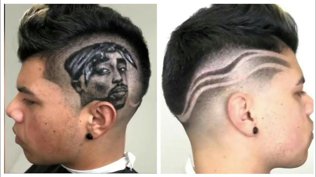 2pac Hair Art Hairstyle Cut By Wester Barber Youtube