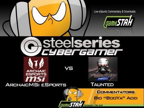 Xbox360 SteelSeries CGi - ArchaicMSi eSports Vs Taunted