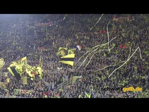 Borussia Dortmund - Zenit 1-2 Stimmung BVB Боруссия - Зенит