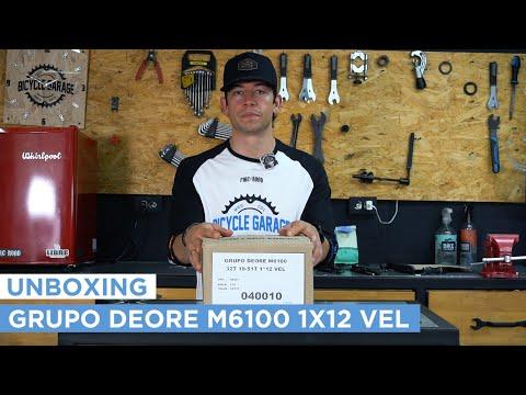 Video Unboxing DEORE M6100 1 x 12 thumbnail