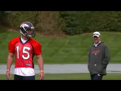 Tim Tebow - Denver Broncos rookie - First Mini Camp