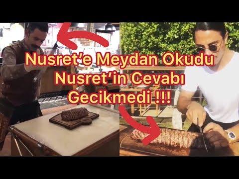 NUSRET'E MEYDAN OKUDU - NUSRET'DEN CEVAP GECİKMEDEN GELDİ !