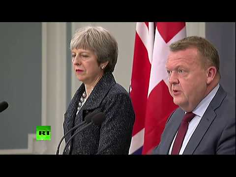 LIVE: Theresa May holds joint press conference with Danish PM in Copenhagen