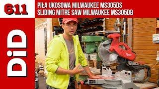 611. Piła Ukosowa Milwaukee MS305DB / Sliding Mitre Saw Milwaukee MS305DB