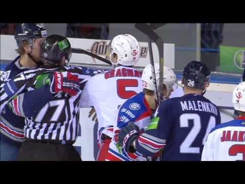 Граньяни ударил Тимкина клюшкой в лицо / Gragnani game misconduct penalty for illegal play