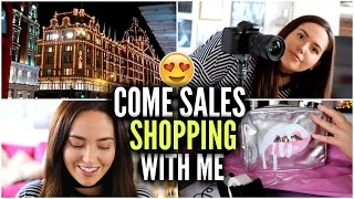 COME SALES SHOPPING WITH ME! 💰