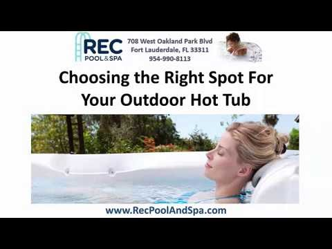 Hot Spring Spas Ft Lauderdale Hot Tub Sale New Used Spas YouTube