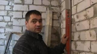 Штукатурные работы по съемным маякам, Харьков